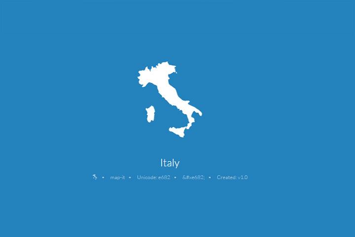 web-font-maps-italy-free
